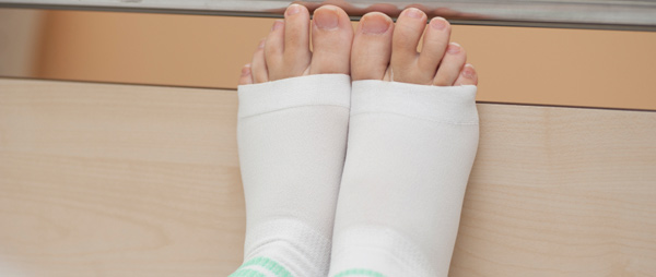 DVT is very common, especially if you've been in hospital for any length of time