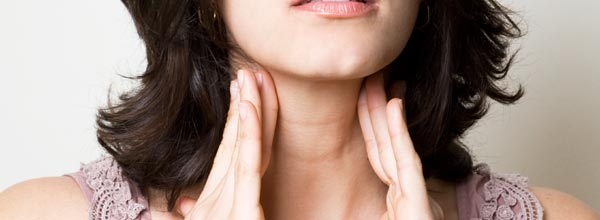 Swollen lymph glands are a sign your body is fighting off disease!